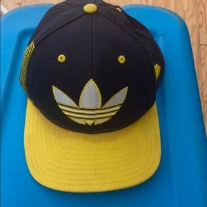 Adidas Michigan yellow and navy blue hat